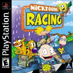 PS1: NICKTOONS RACING (NICKELODEON) (COMPLETE)