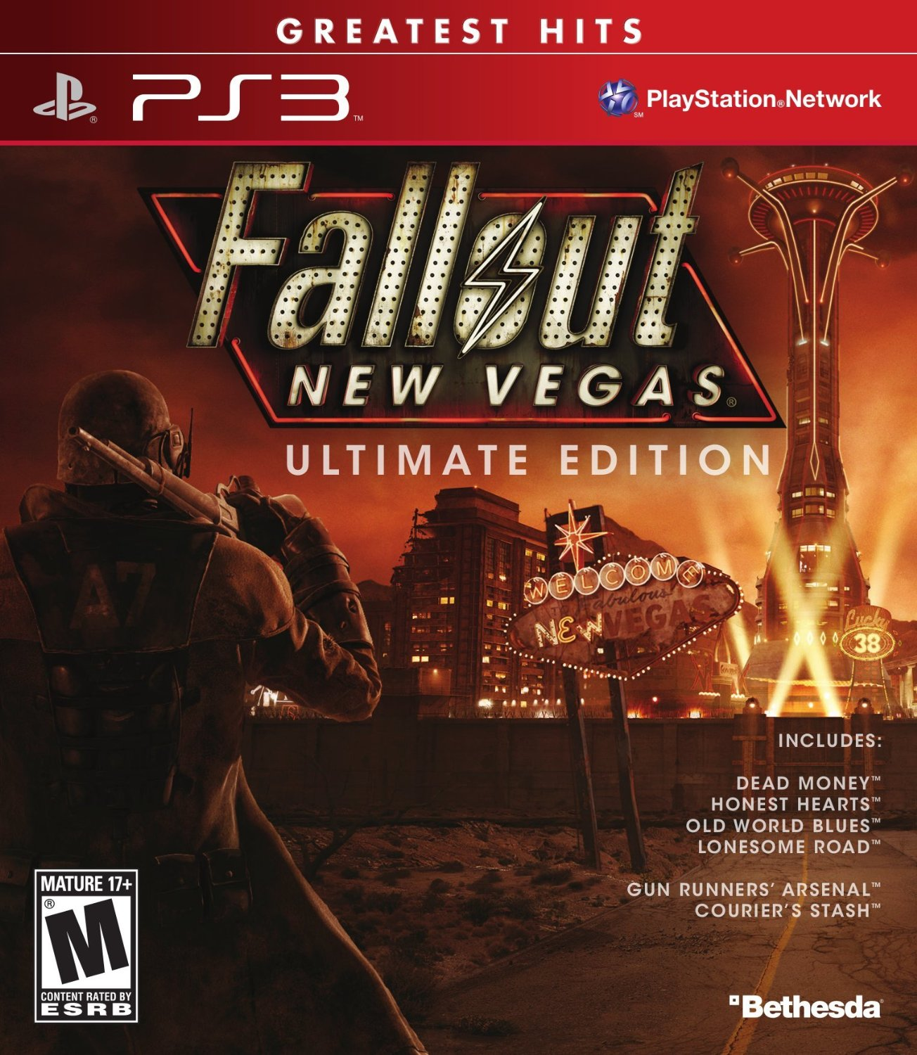 PS3: FALLOUT NEW VEGAS: ULTIMATE EDITION (NEW)