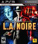 PS3: LA NOIRE W/ GAME GUIDE (USED)