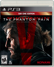 PS3: METAL GEAR SOLID V: THE PHANTOM PAIN: DAY ONE EDITION (COMPLETE)