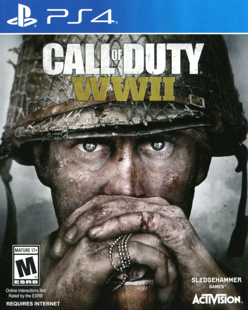 PS4: CALL OF DUTY: WWII (NM) (NEW)