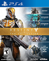 PS4: DESTINY - THE COLLECTION - (NM) (COMPLETE)
