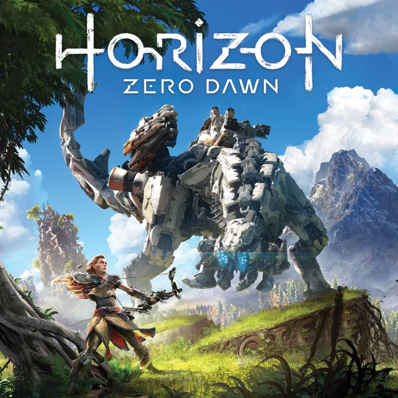 PS4: HORIZON: ZERO DAWN (NM) (COMPLETE)