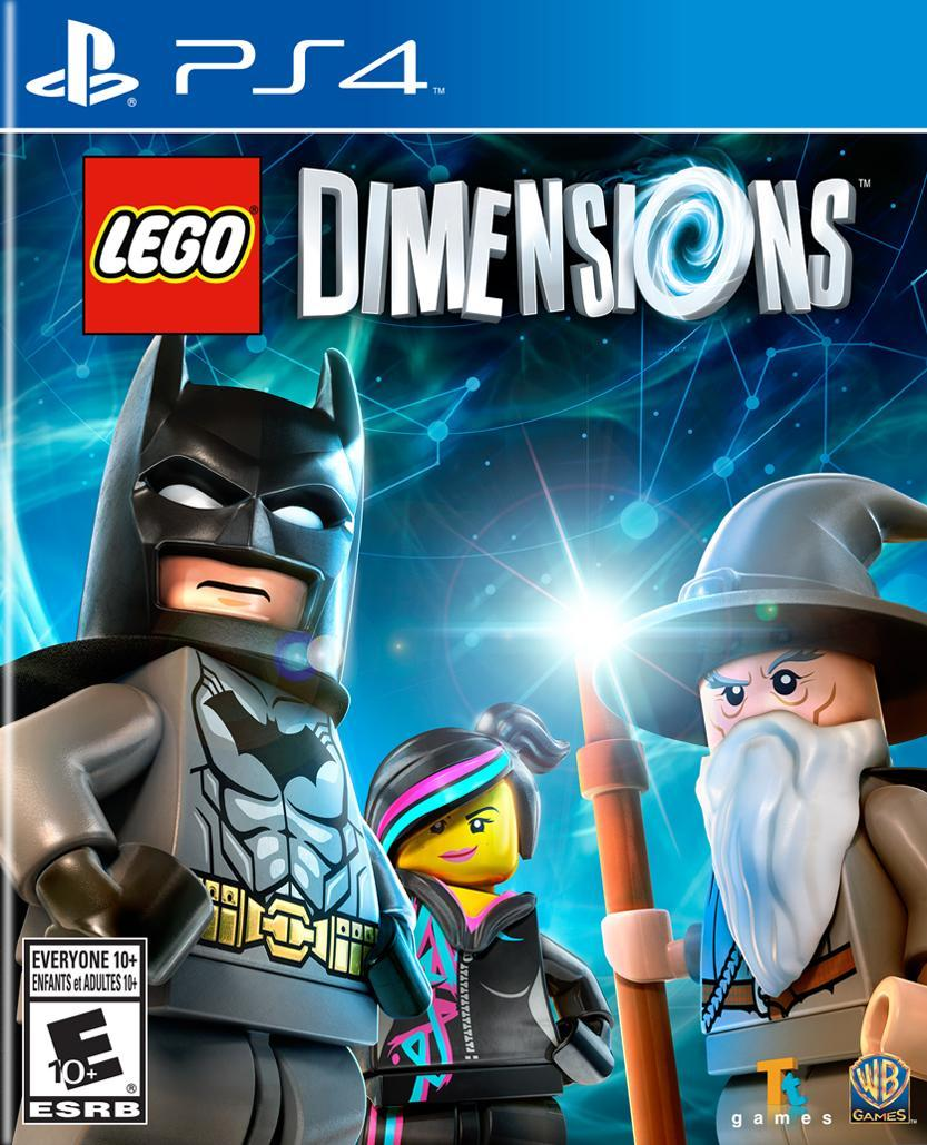 PS4: LEGO DIMENSIONS (SOFTWARE ONLY) (NM) (COMPLETE)
