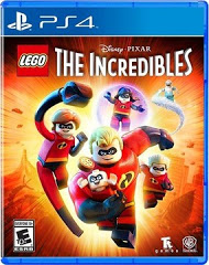 PS4: LEGO INCREDIBLES (NM) (COMPLETE)