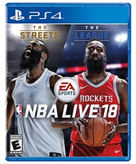 PS4: NBA LIVE 18 (NM) (COMPLETE)