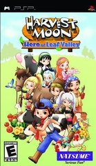 PSP: HARVEST MOON - HERO OF LEAF VALLEY - (COMPLETE)