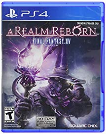 PS4: FINAL FANTASY XIV ONLINE: A REALM REBORN (ALL VERSIONS) (NM) (COMPLETE)