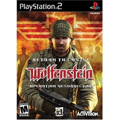 PS2: RETURN TO CASTLE WOLFENSTEIN: OPERATION RESURRECTION (COMPLETE)
