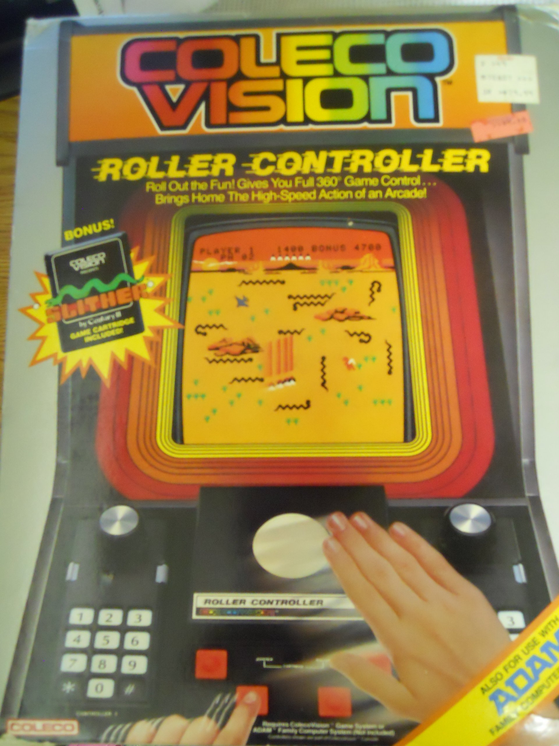 COL: ROLLER CONTROLLER - COLECO (USED)