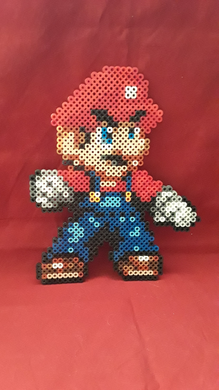PRL: MARIO BROS WALL HANGING (NEW)