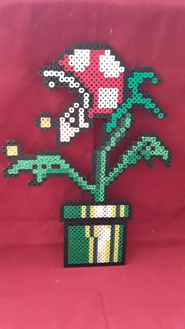 PRL: PIRANHA PLANT WALL HANGING (NEW)