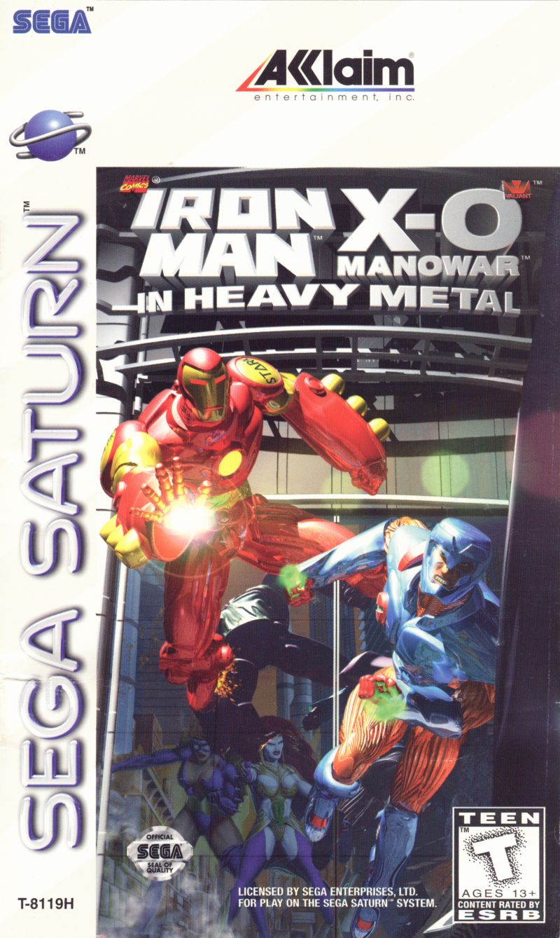SAT: IRON MAN X-O MANOWAR IN HEAVY METAL (COMPLETE)