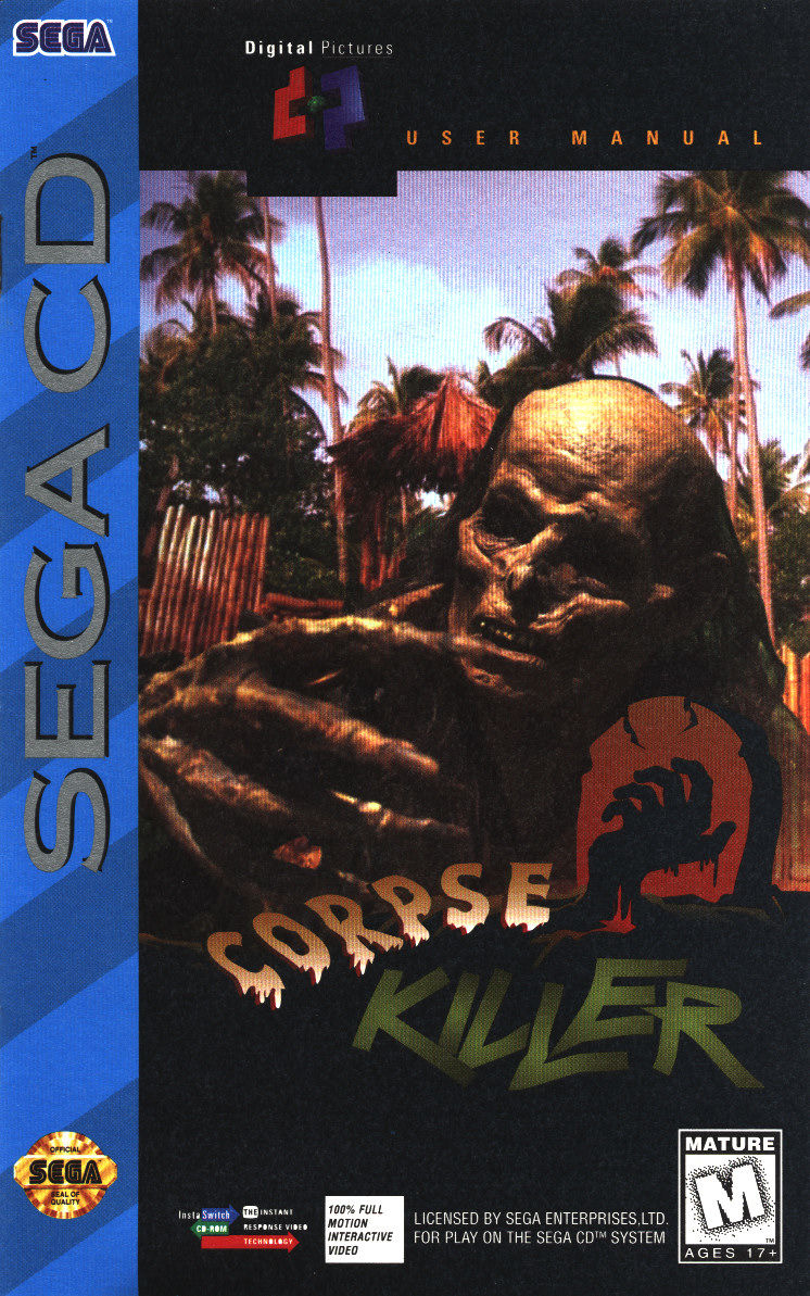 SCD: CORPSE KILLER (COMPLETE) (DAMAGED CASE)