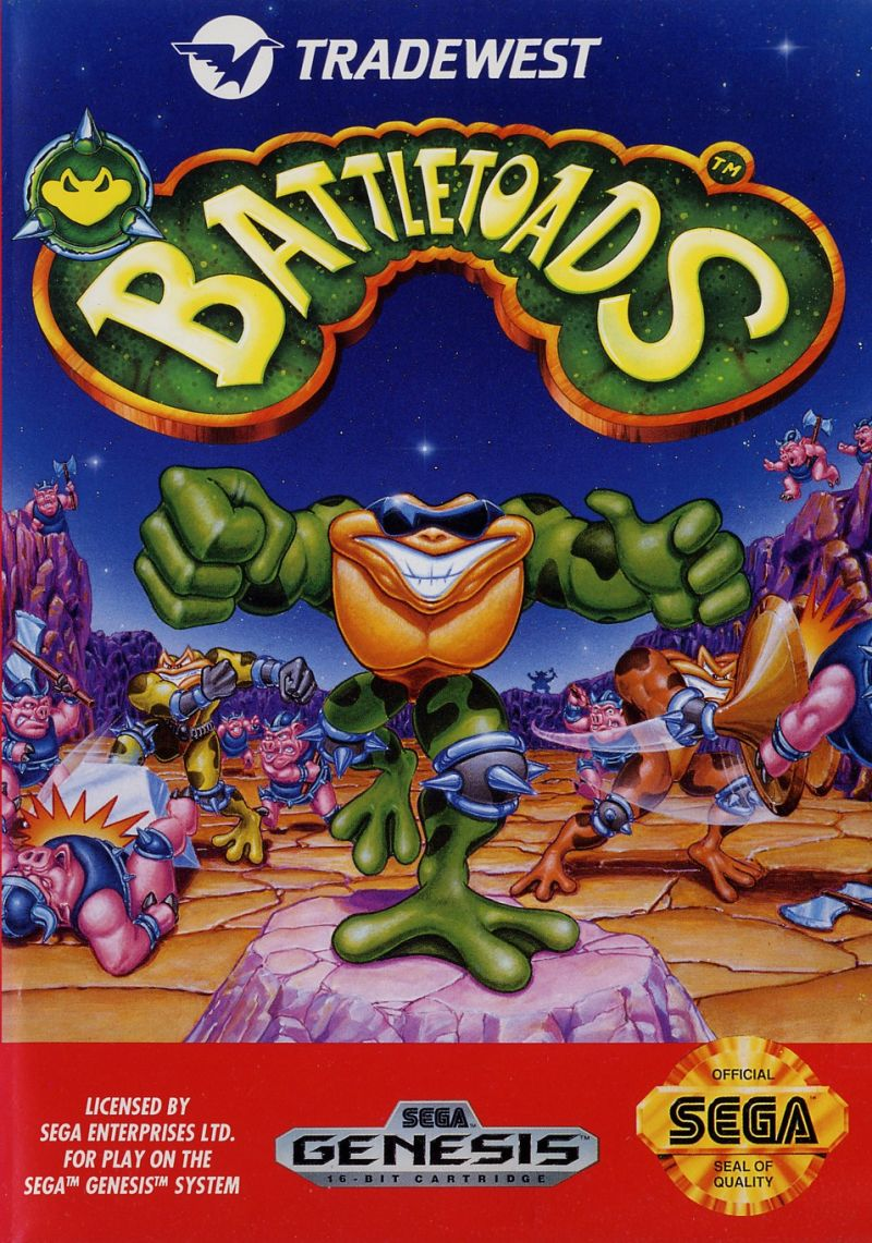 SG: BATTLETOADS (BOX)