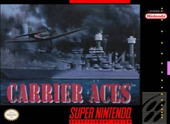SNES: CARRIER ACES (GAME)