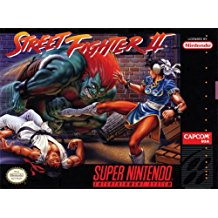 SNES: STREET FIGHTER II (GAME)