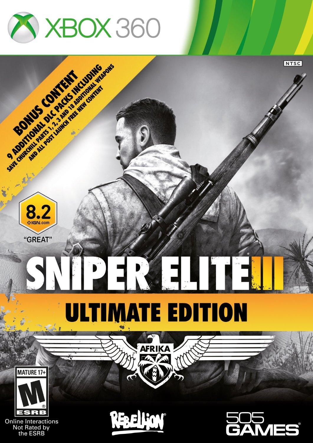 360: SNIPER ELITE III ULTIMATE EDITION (COMPLETE)