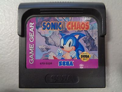 GG: SONIC CHAOS (NEW)