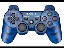 PS3: CONTROLLER - SONY - WIRELESS - COSMIC BLUE - SIXAXIS DUAL SHOCK (USED)
