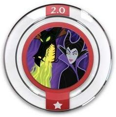 FIG: DISNEY INFINITY 2.0 ORIGINALS WAVE POWER DISC: MALEFICENTS SPELL CAST (USED)