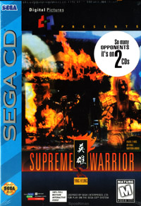 SCD: SUPREME WARRIOR (NEW)