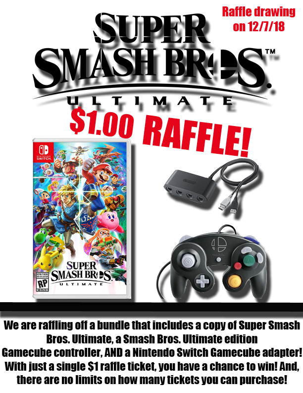 .MISC: RAFFLE TICKET - NS SMASH BUNDLE (NEW)