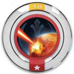 FIG: DISNEY INFINITY 3.0 STAR WARS POWER DISC: RESISTANCE TACTICAL STRIKE (USED)