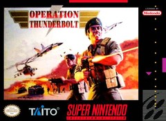 SNES: OPERATION THUNDERBOLT (COMPLETE)