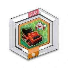 FIG: DISNEY INFINITY 2.0 ORIGINALS WAVE POWER DISC: MR TOADS MOTORCAR (USED)
