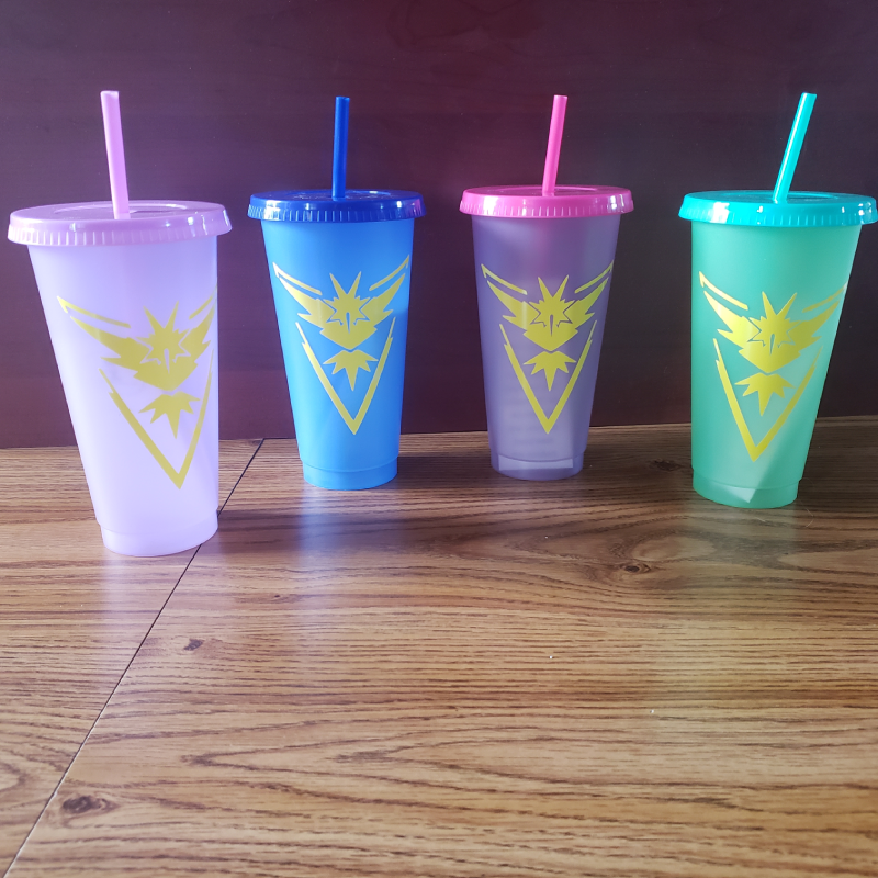 MISC: TEAM INSTINCT COLOR CHANGING CUP (NEW)