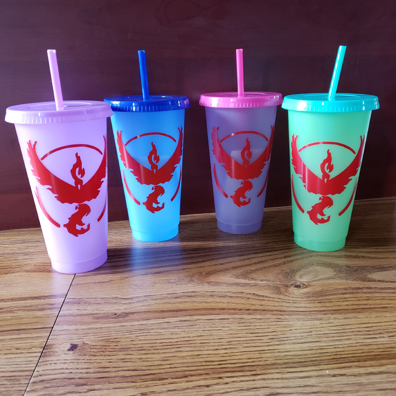 MISC: TEAM VALOR COLOR CHANGING CUP (NEW)