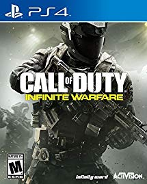 PS4: CALL OF DUTY INFINITE WARFARE (NM) (COMPLETE)
