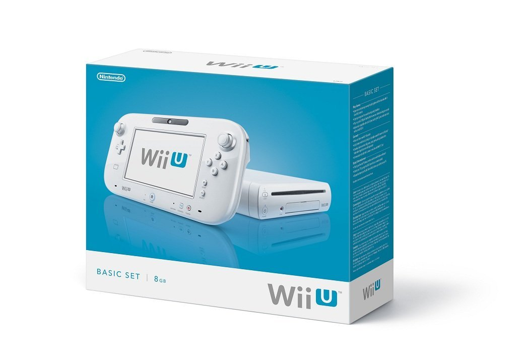 WIIU: CONSOLE - 8GB - BASIC SET (USED)