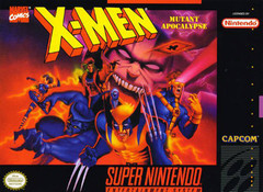 SNES: X-MEN MUTANT APOCALYPSE (REPRODUTION BOX) (BOX)