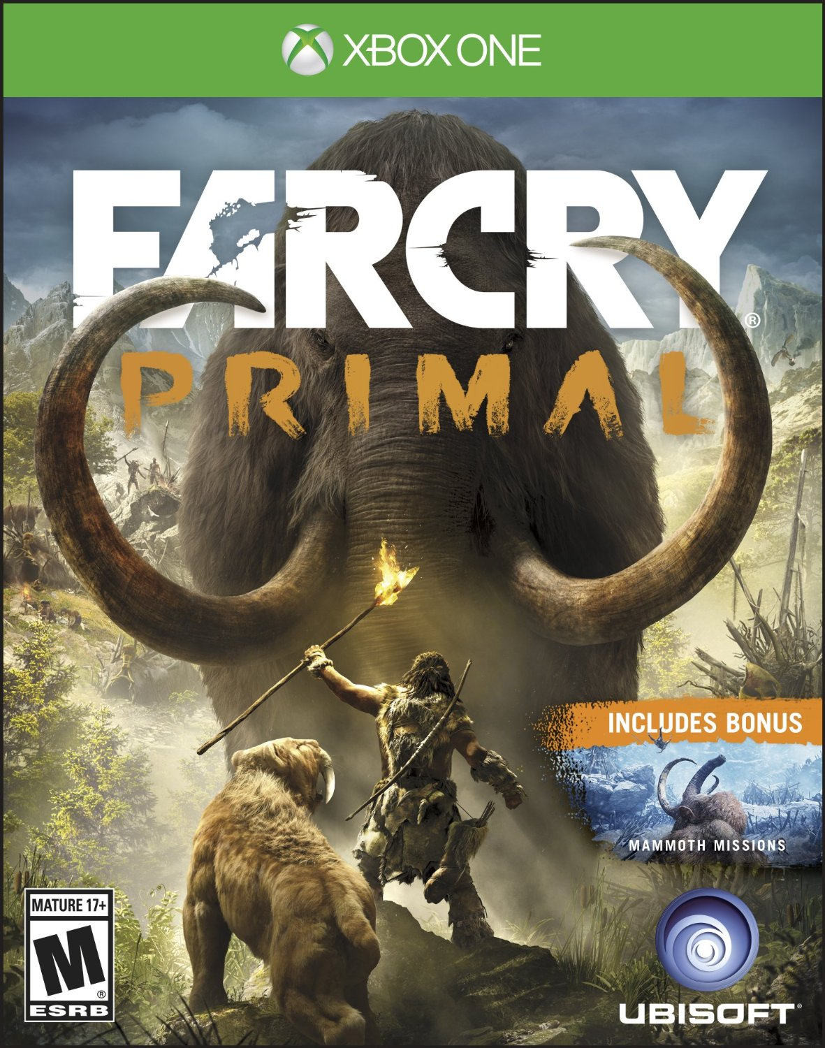 XB1: FAR CRY PRIMAL (NM) (NEW)