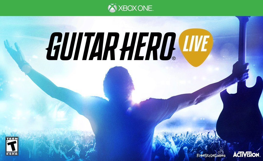 XB1: GUITAR HERO LIVE (NM) (SOFTWARE ONLY) (COMPLETE)