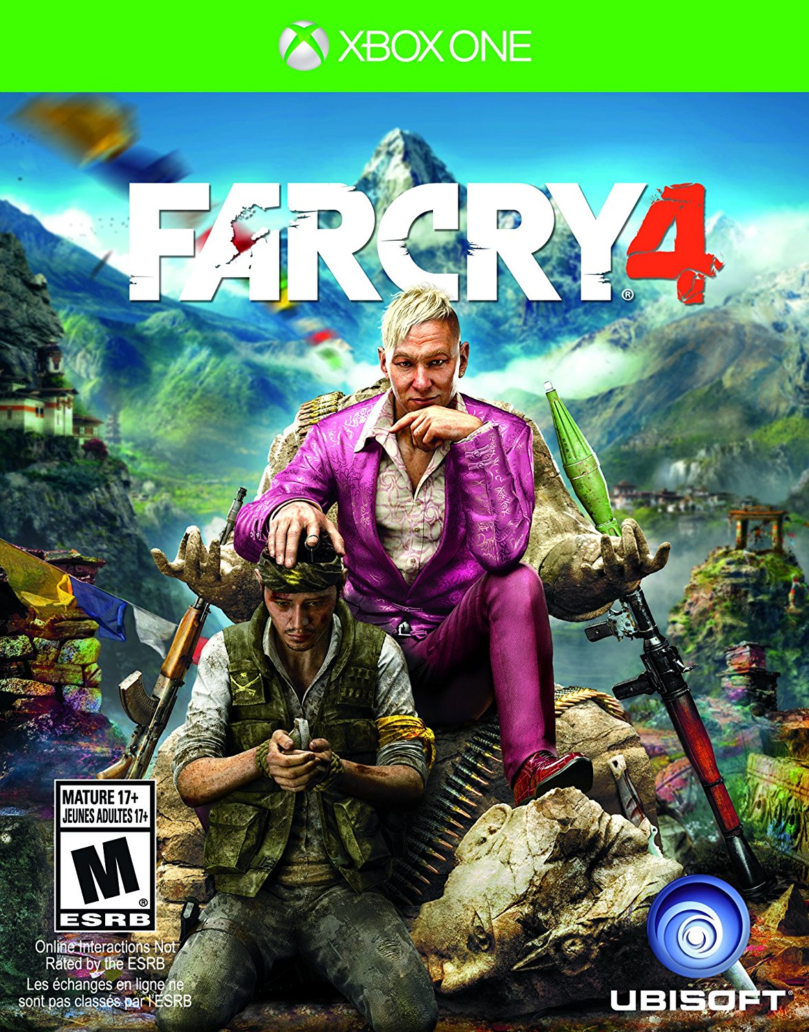 XB1: FAR CRY 4 (COMPLETE)