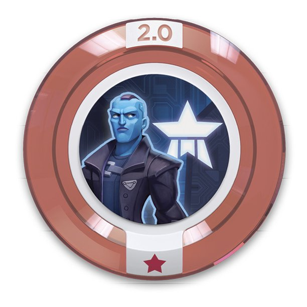 FIG: DISNEY INFINITY 3.0 MARVEL BATTLEGROUNDS WAVE POWER DISC: YONDU (USED)