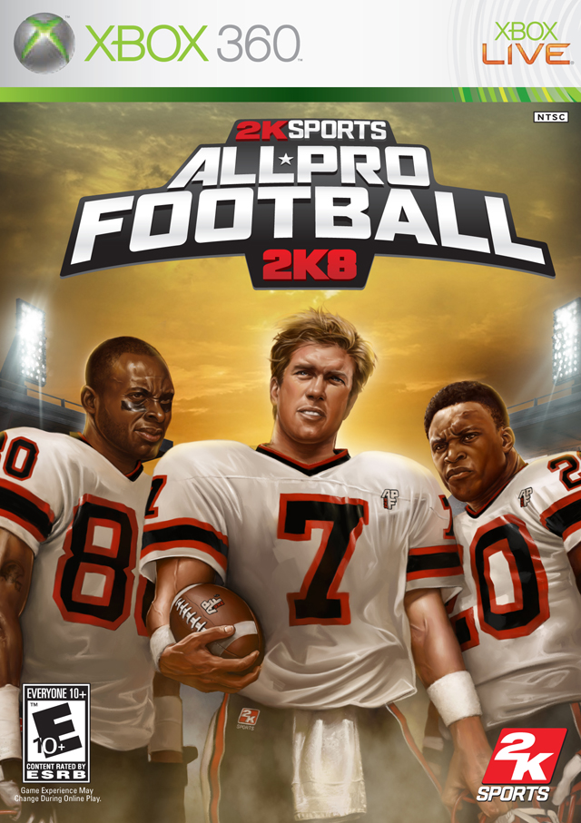 360: ALL PRO FOOTBALL 2K8 (COMPLETE)