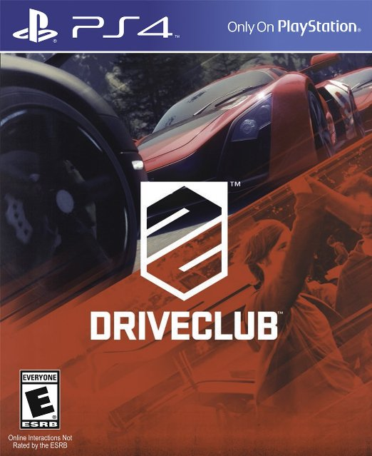 PS4: DRIVECLUB (NM) (COMPLETE)
