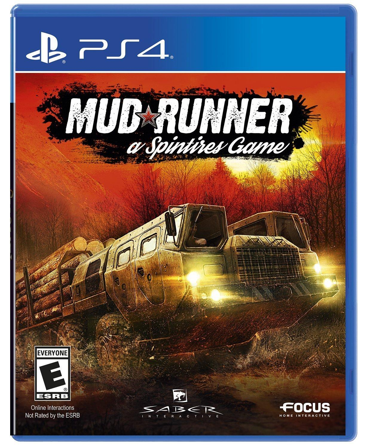 PS4: MUD RUNNER A SPITIRES GAME