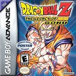 GBA: DRAGON BALL Z: THE LEGACY OF GOKU (WORN LABEL) (GAME)
