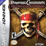 GBA: PIRATES OF THE CARIBBEAN: CURSE OF THE BLACK PEARL (DISNEY) (GAME)