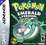 GBA: POKEMON EMERALD VERSION (BAD LABEL) (GAME)