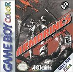 GBC: ARMORINES PROJECT S.W.A.R.M. (WORN LABEL) (GAME)