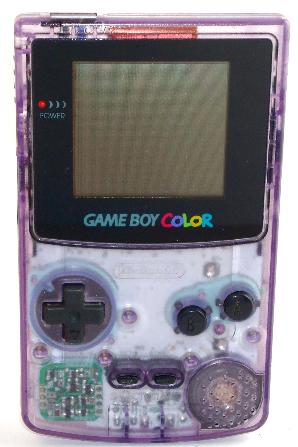 GBC: CONSOLE - GAMEBOY COLOR - ATOMIC PURPLE (W/ COVER) (USED)