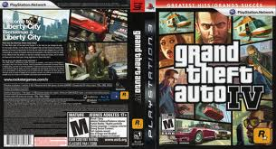 PS3: GRAND THEFT AUTO IV (GTA) (COMPLETE)