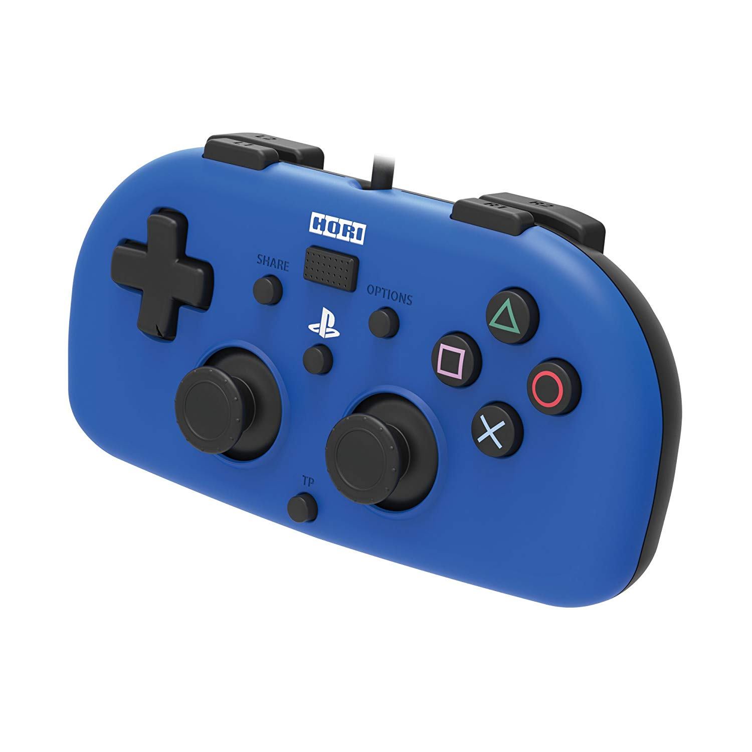 PS4: CONTROLLER - HORI - WIRED MINI GAMEPAD (USED)