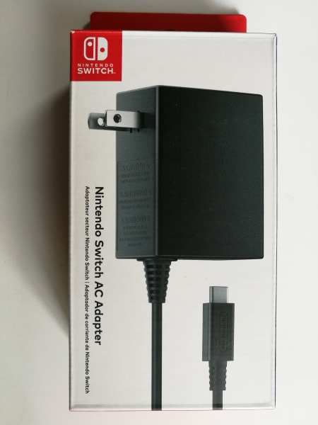 NS: AC ADAPTER - NINTENDO (USED)